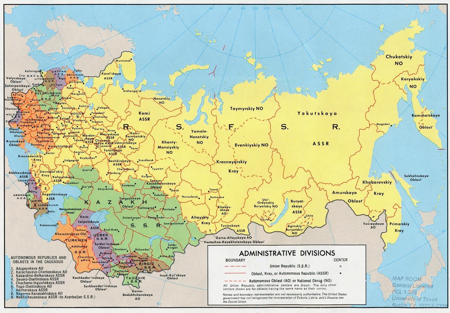 Cartina Urss.Mappa Dell Urss La Mappa Dell Urss Europa Dell Est Europa