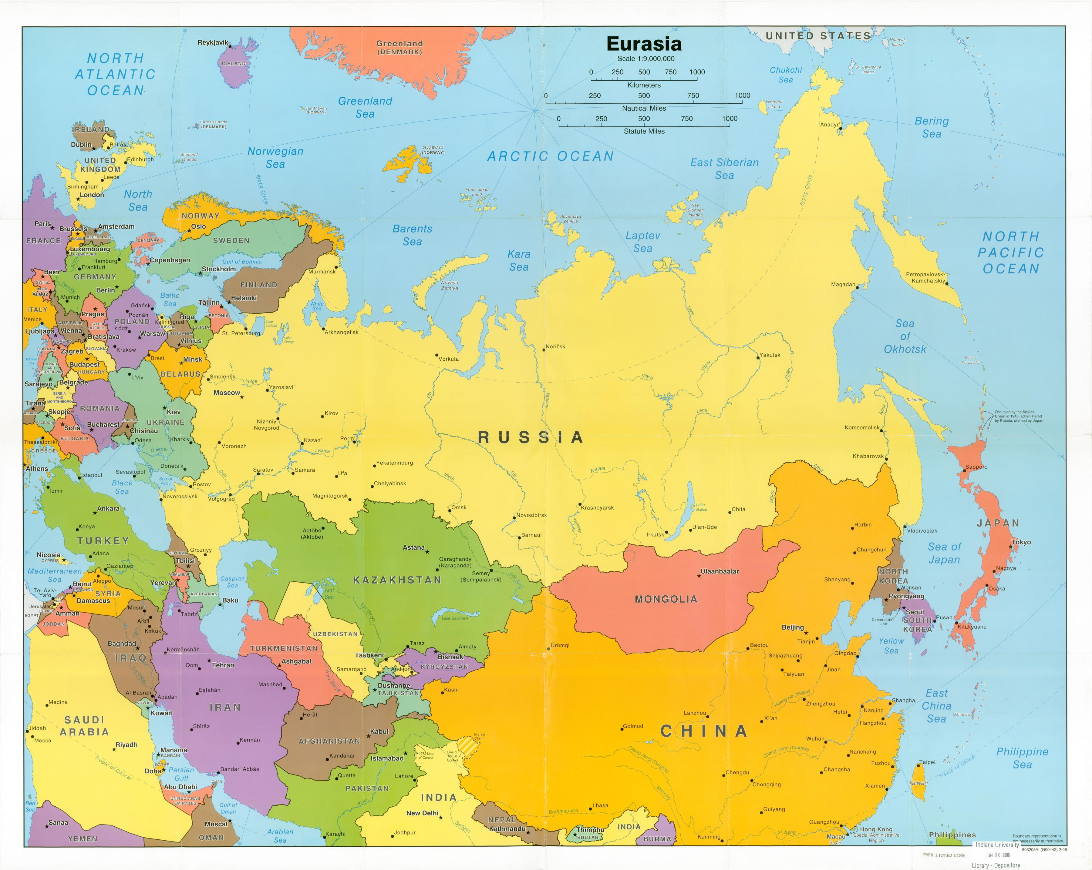 Cartina Urss.Vs Urss Russia Mappa Mappa Dell Urss Vs Russia Europa Dell Est Europa