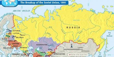 Cartina Urss.Unione Sovietica Mappa Mappa Unione Sovietica Europa Dell Est Europa